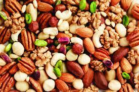 O poder das nozes, castanhas, frutas secas  e sementes
